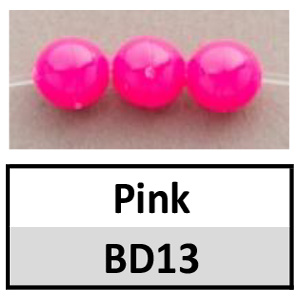 Beads 6mm Opaque Round