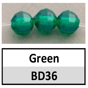 Beads 8mm Faceted