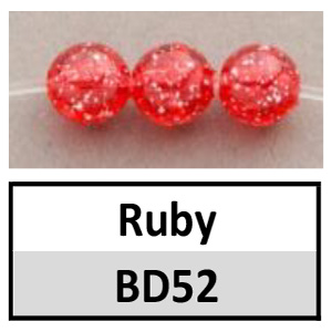 Beads 6mm Sparkle Round