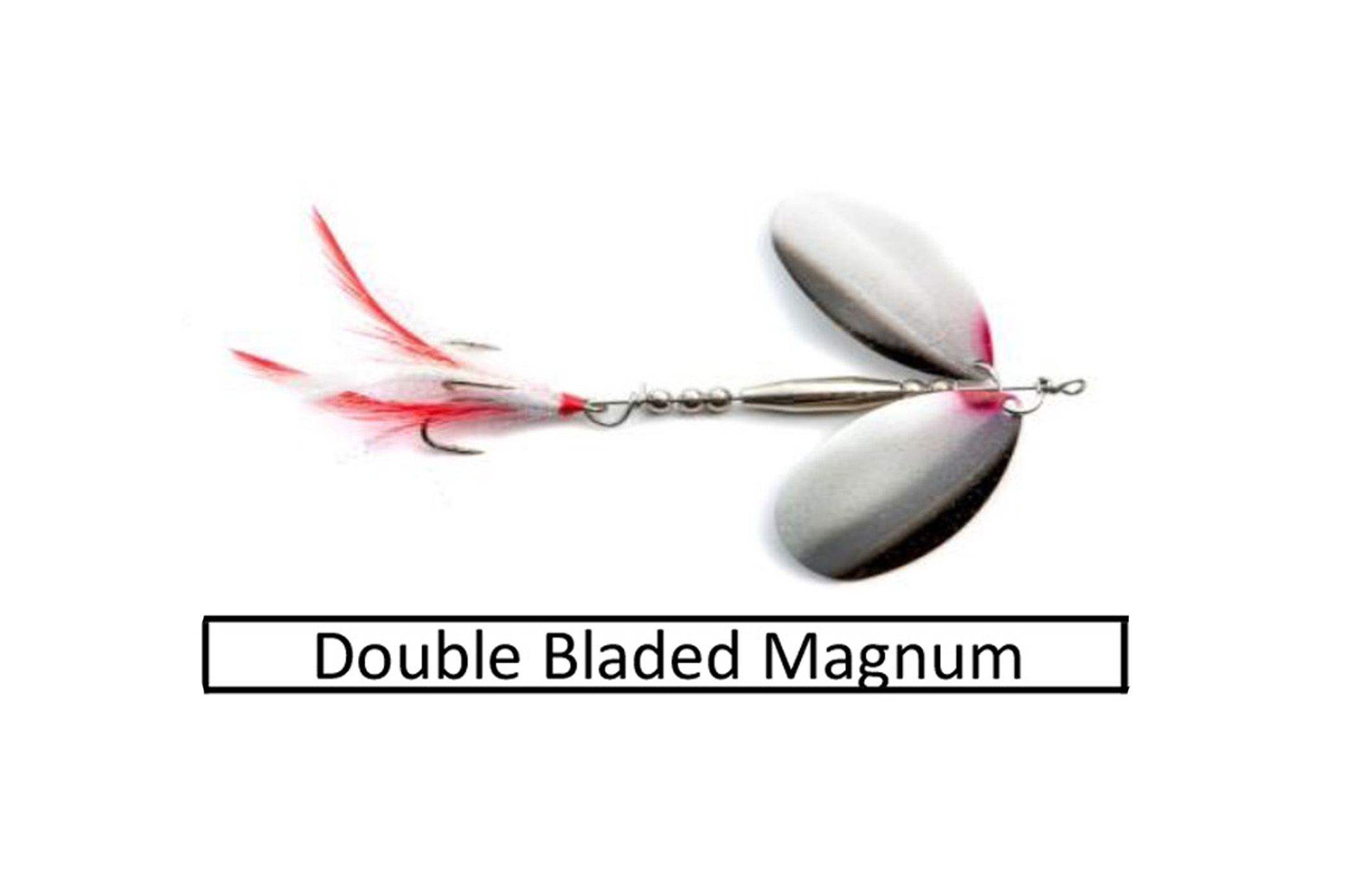 double blade spinner link button