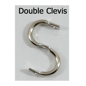 Double (S) Clevis