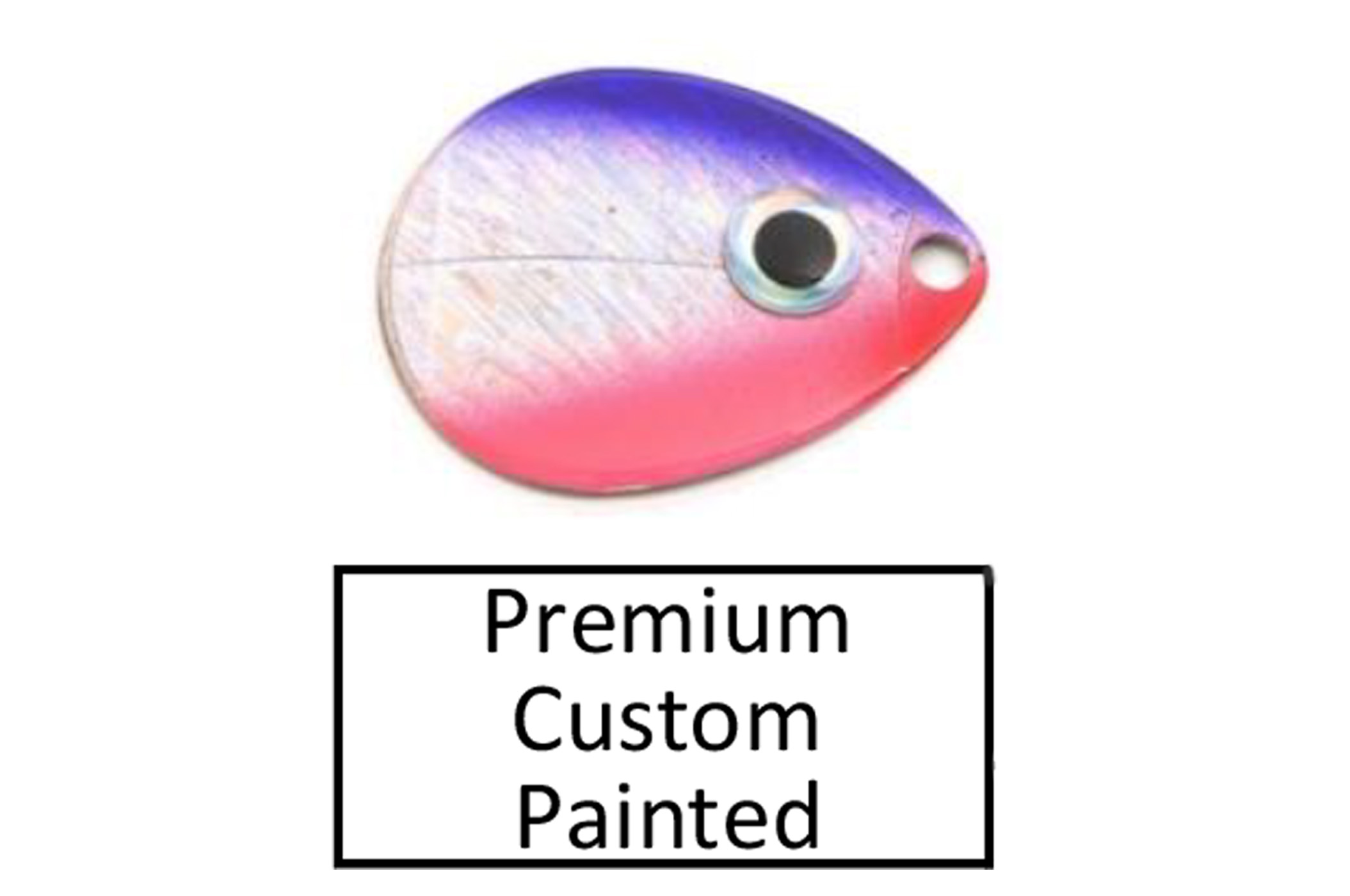 premium custom painted blades