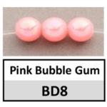 Opaque Pink Bubble Gum AB