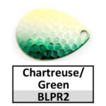 chartreuse/green silver