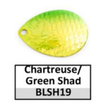 chartreuse/green shad
