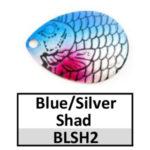 blue/silver shad