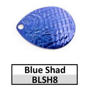 Size 4 Colorado Proscale Spinner Blades – blue shad BLSH8