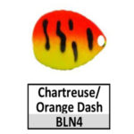 N4 Chartreuse/Orange Dash