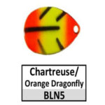 N5 Chartreuse/Orange Dragonfly