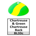 chartreuse-green chartreuse back