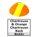 chartreuse-orange chartreuse back