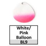 white-pink balloon