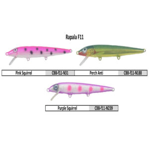 Rapala Floating F11 Body Bait