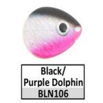 Black/Purple Dolphin