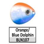 Orange/Blue Dolphin