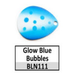 N111 Glow Blue Bubbles