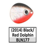 Black/Red Dolphin