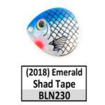 Emerald Shad Tape