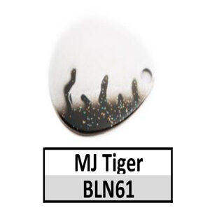 Size 5 Colorado Tiger Stripe Pattern Basic Spinner Blades – N61 MJ Tiger