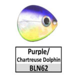 Purple/Chartreuse Dolphin