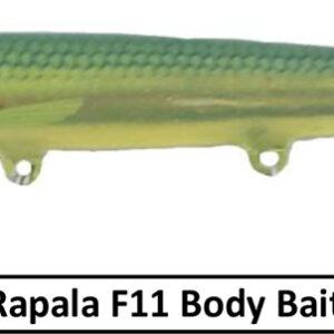 Rapala Floating F11 Body Bait