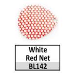 white-red net