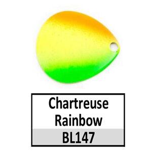 Tomahawk Rainbow/Tricolor Basic Spinner Blades