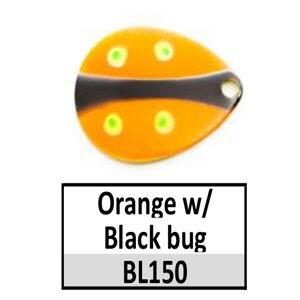 Size 5 Indiana Bug Pattern Basic Spinner Blades – BL150/74 Orange/black bug