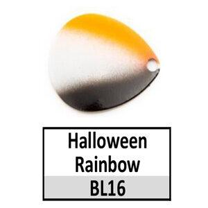 Size 4 Colorado Rainbow/Tricolored Basic Spinner Blades – Halloween Rainbow BL16