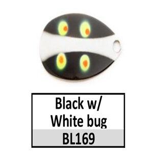 Size 5 Indiana Bug Pattern Basic Spinner Blades – BL169 Black/white bug