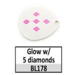 Glow w/ 5 diamonds
