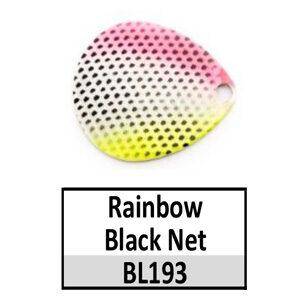 Size 4 Colorado Rainbow/Tricolored Basic Spinner Blades – Rainbow Net BL193