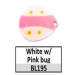 White/pink bug