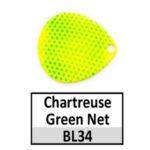 chartreuse-green net