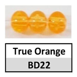 Beads 6mm Translucent Round