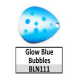 Glow Blue Bubbles