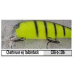 CBB-b-15lb chartreuse w/ ladderback