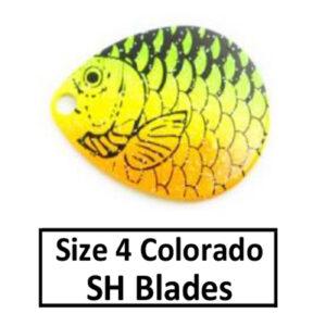 Size 4 Colorado Proscale Spinner Blades
