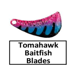Tomahawk Baitfish-Perch Pattern Spinner Blades