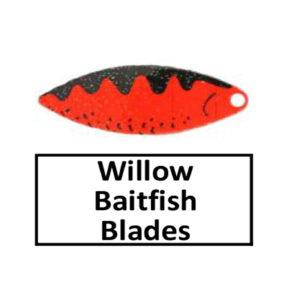 Willow Baitfish-Perch Pattern Spinner Blades