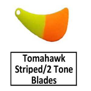 Tomahawk Striped/2 Tone Basic Spinner Blades