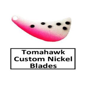 Tomahawk Nickel Base Custom Painted Spinner Blades