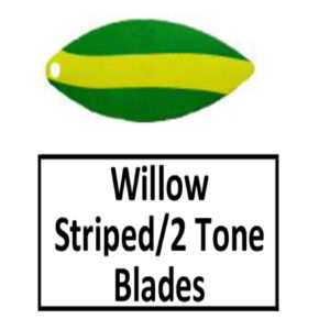 Willow Striped/2 Tone Basic Spinner Blades